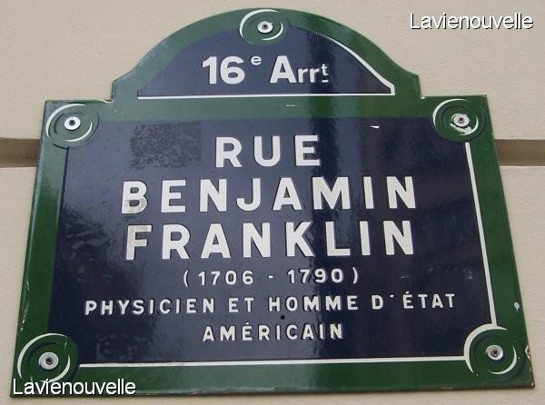 Rue Benjamin Franklin -