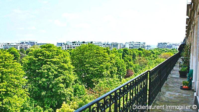 Dernier étage sur le Ranelagh avec balcon filant - Chaussée de la Muette