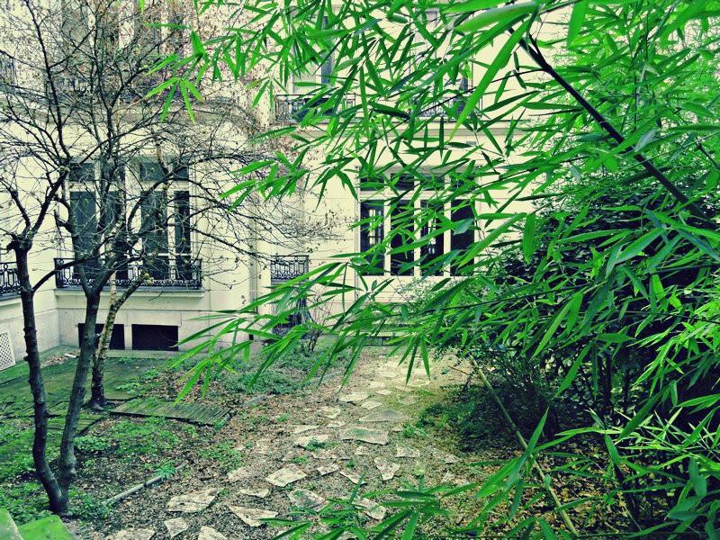 Jardin avenue Niel - Avenue Niel-Marché Poncelet
